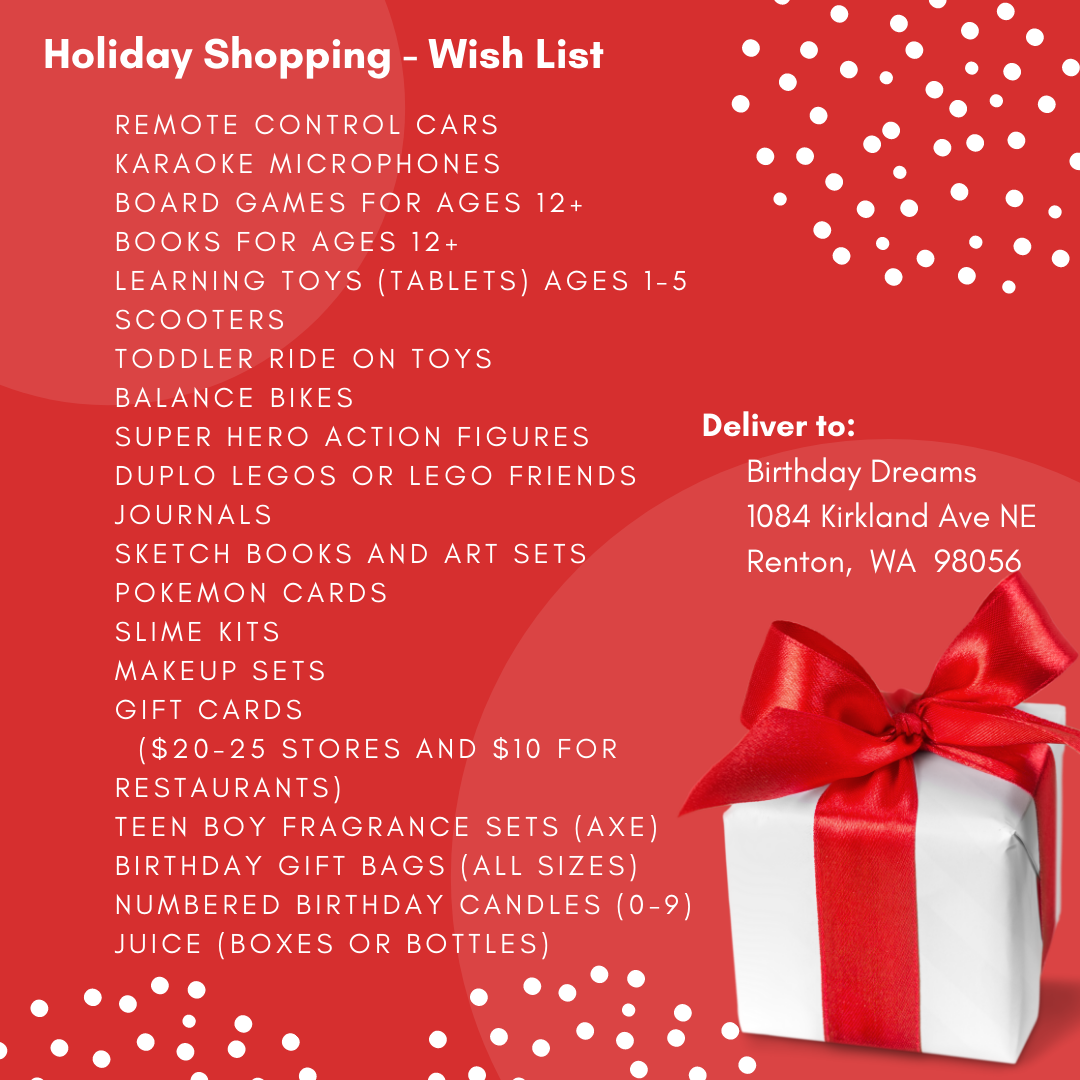 Holiday Wish List Image